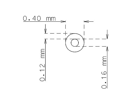 Microtube de 0.4mm x 0.12mm qualité 304 Dur